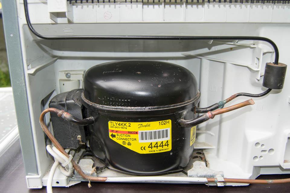 داغ شدن کمپرسور یخچال